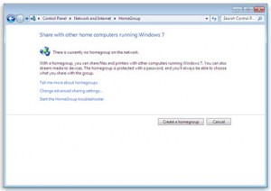 Image of setting up Homegroup from http://AskClayFranklin.com