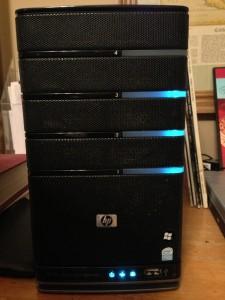 HP Media Smart Server EX-485